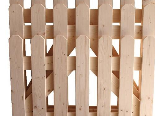 Market del legno cancello market in abete h150 - Cancelletto in legno per esterno ...