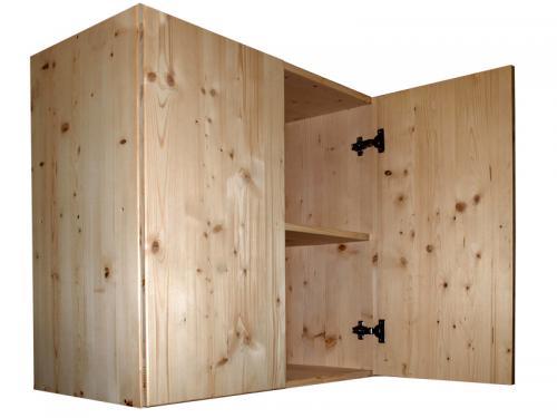 Market del legno mobile in legno di abete 18 mm sopralzo - Mobili legno grezzo ...