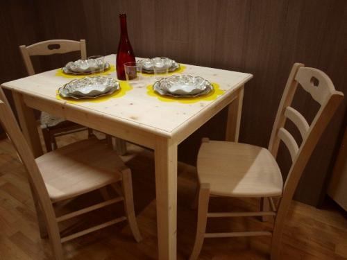 Market del legno tavolo toscana h77 con piano e for Tavolo 120x80