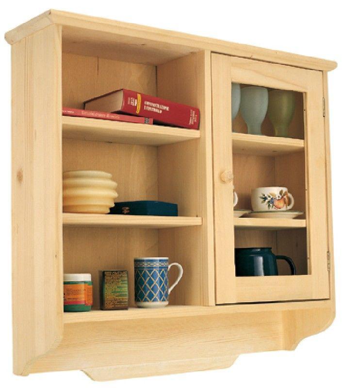 Pensili cucina in pino idee di design nella vostra casa - Pensile per cucina ...