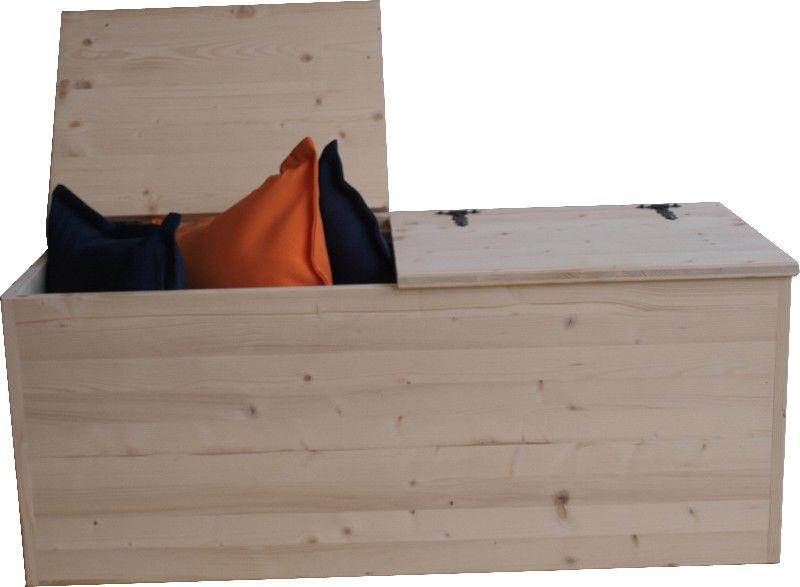 Market del legno cassapanca eco 2 h42 for Cassapanche piccole legno