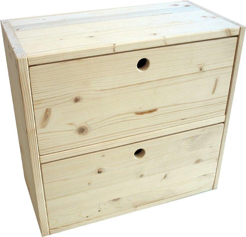 Market del legno cassetto eco cubo piccolo for Cubi in legno per arredare