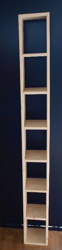 Market del legno porta dvd 177x20x20 - Porta dvd in legno ...
