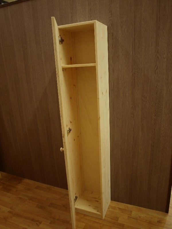 Market del Legno: Mobile porta scope 33X30 H 180 abete 18mm con ...