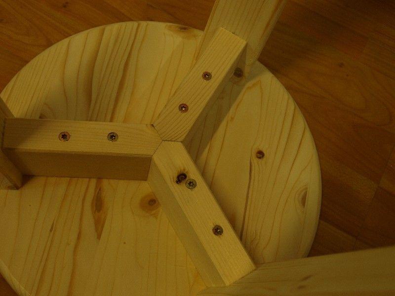 Market del legno sgabello riviera h