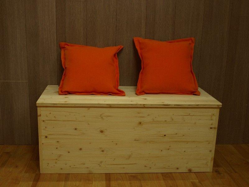 Market del legno cassapanca eco h42 for Cassapanche piccole legno
