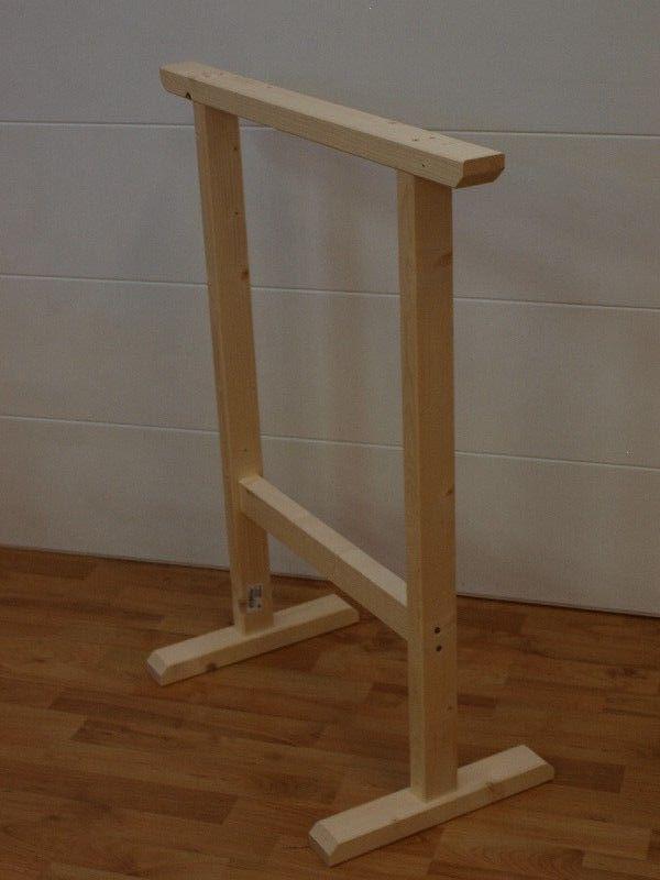 Market del Legno: Cavalletto Maxi 90H x 75 cm. in legno di abete