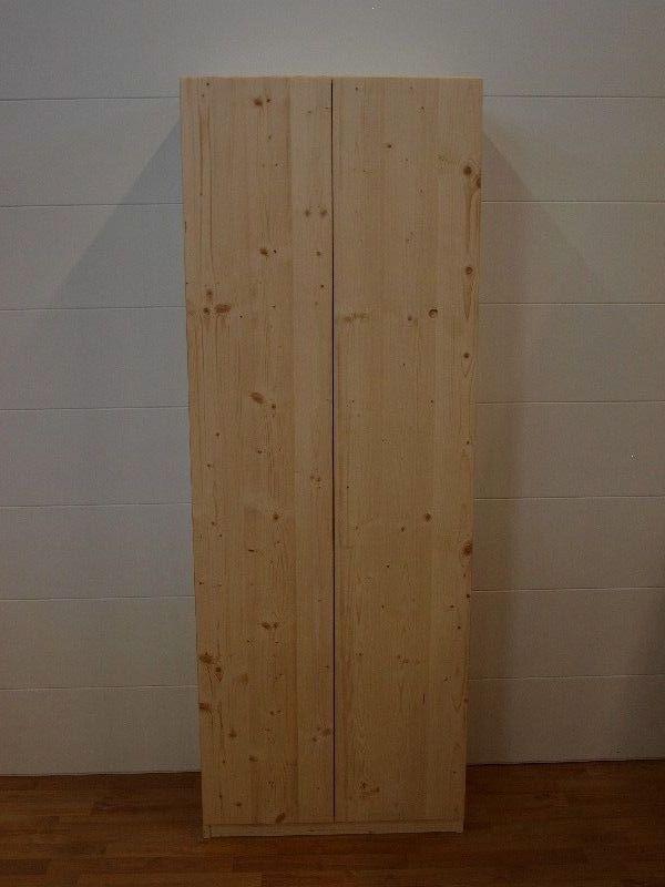 Market del Legno: Mobile portascope 65x36 H 180 in abete 18 mm con 2 ...
