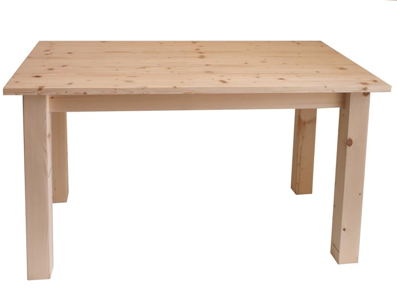 Market del legno tavolo legno grezzo modello taverna cm for Tavoli in legno grezzo