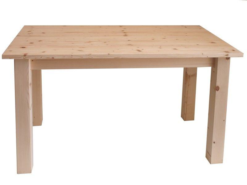 Market del legno tavolo taverna 200x100 h 77 27mm con for Tavolo legno grezzo