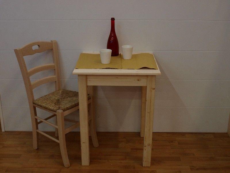 Market del legno tavolo toscana h77 con piano in for Offerte tavoli legno massello