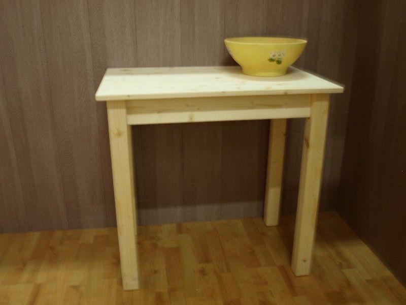 consolle maxima easyline : Market del legno: tavolo consolle viareggio cm.80x40 h77