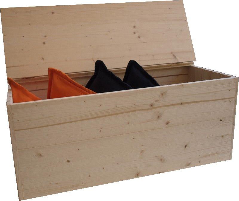 Market del legno cassapanca eco h42 for Cassapanca legno grezzo