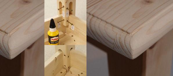tavoli in legno massello grezzo, librerie in legno massello grezzo ... - Tavolo Cucina Legno Massello