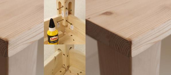 Gambe tavolo legno grezzo tavolo in legno massello di for Cerco gratis mobili